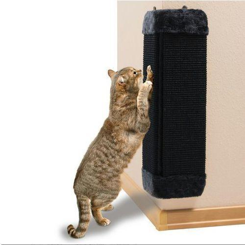 TRIXIE Drapak narożny dla kota 60cm czarny - produkt z kategorii- Drapaki dla kotów