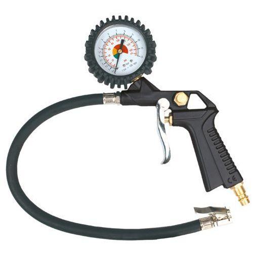 Topex Pistolet do pompowania z manometrem o 63 mm 75m301 (5902062753014)