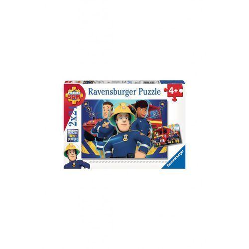 Ravensburger Puzzle strażak sam 2x24 elementy 1y36pa