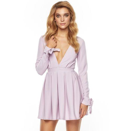 Sukienka Romanica w kolorze wrzosowym