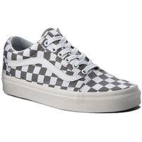 Tenisówki - old skool vn0a38g1u53 (checkerboard) pewter/marshmallow marki Vans