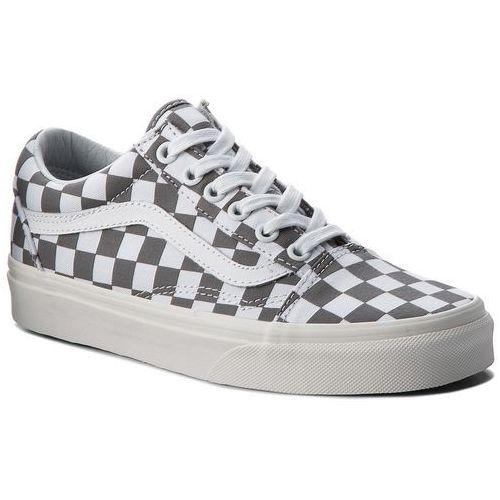Tenisówki VANS - Old Skool VN0A38G1U53 (Checkerboard) Pewter/Marshmallow