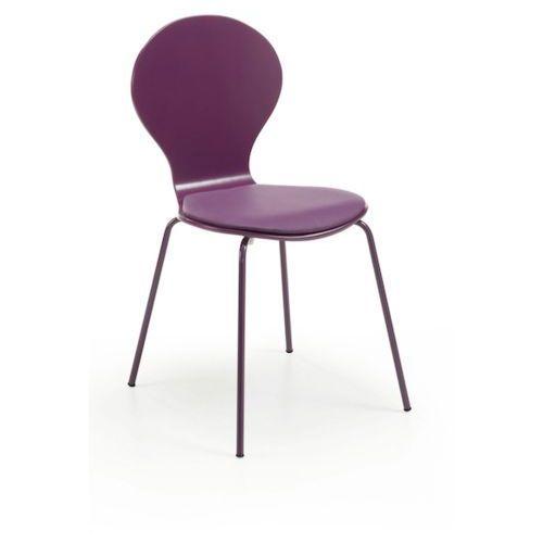 LaForma:: Krzesło JAZZ Purpurowe - wzór 2