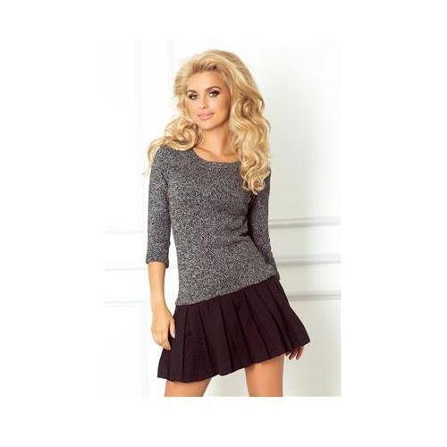 73-1 Sweterek z plisowanym dołem
