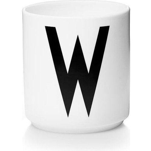 Kubek porcelanowy AJ litera W, 10201000-W