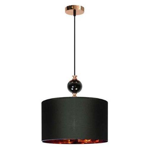 LAMPA wisząca MELBA 31-39385 Candellux abażurowa OPRAWA zwis czarny, 31-39385