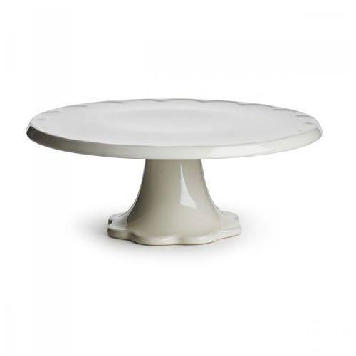 Ceramiczna patera 28x10,5 cm Sagaform Piccadilli biała
