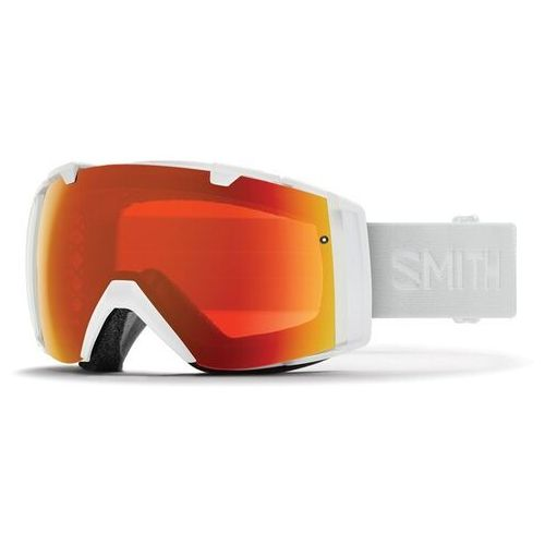 Gogle snowboardowe - i/o white vapor chromapop everyday red mirror (99mp) marki Smith