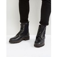 elmore leather lace up boots - black marki H by hudson