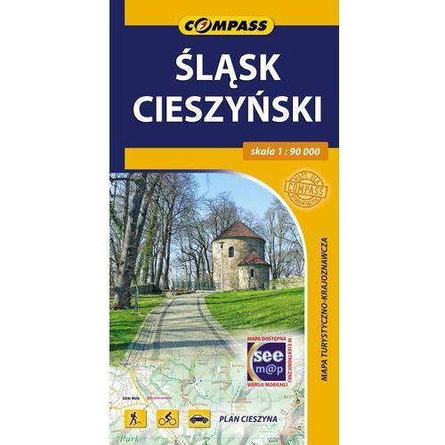 Śląsk Cieszyński mapa turystyczno-krajoznawcza 1:90 000 - Praca zbiorowa, oprawa miękka