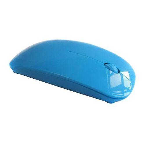 Laptopshop Mysz komputerowa bezprzewodowa (niebieska)