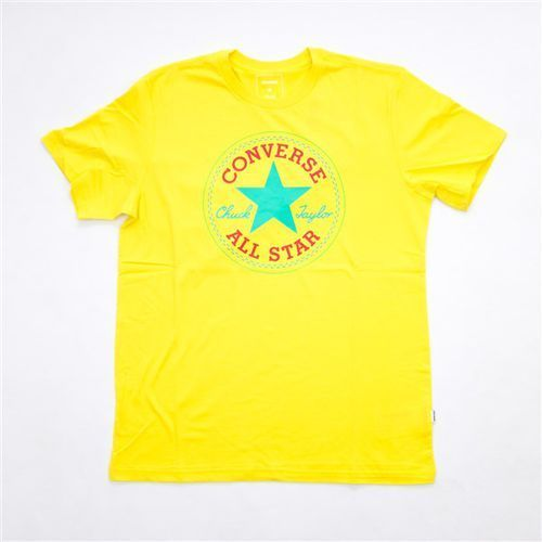Converse Tričko - core seasonal cp tee fresh yellow (fresh yellow) rozmiar: xl