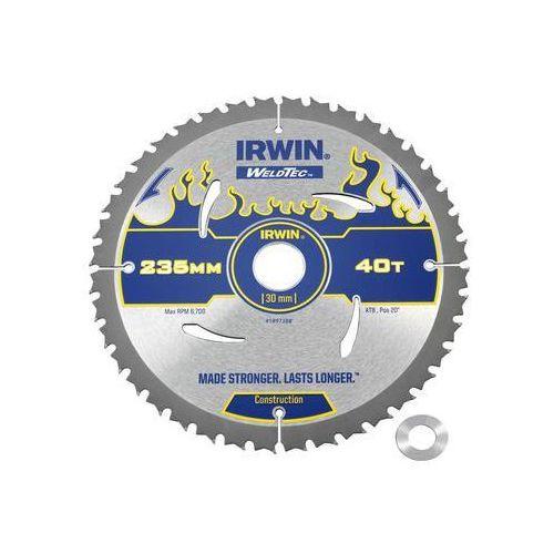 Tarcza do pilarki tarczowej 235mm/40t/30(20) śr. 235 mm 40 z marki Irwin weldtec