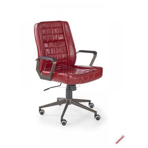 Fotel gabinetowy Halmar Windsor bordowy – Dostawa GRATIS 24H, 97554