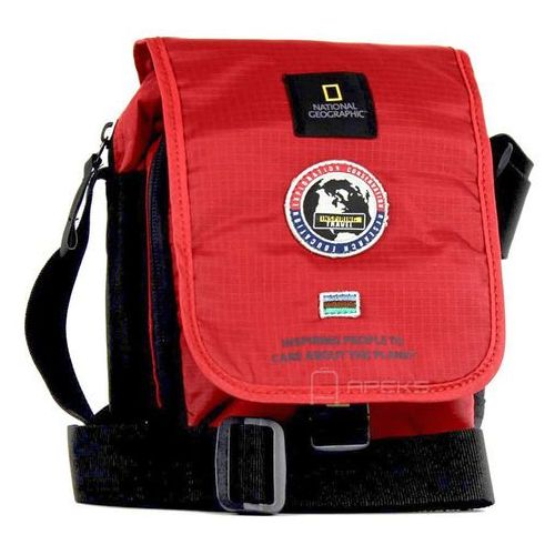National geographic explorer mała torba / saszetka na ramię / n01105.35 - czerwony