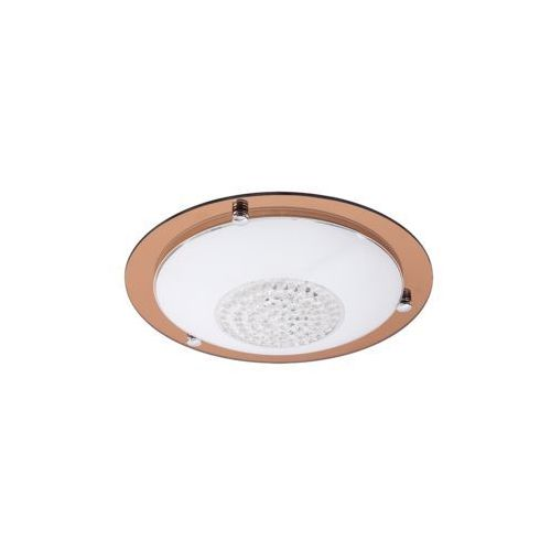 Plafon lampa sufitowa patricia 2x40w e27 przezroczysty / różowo-złoty 2466 marki Rabalux