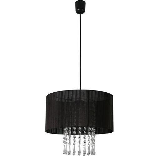 Lampa wisząca wenecja czarna 153/1 cza marki Lampex