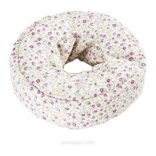Poduszka przeciwodleżynowa wypełniona granulatem, okrągła, 15cm, w pokrowcu bawełnianym