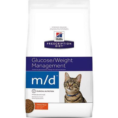 Hill's pd prescription diet feline m/d 1,5kg - 1500 marki Hills prescription diet