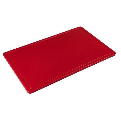 Deska z polietylenu haccp czerwona marki Tom-gast