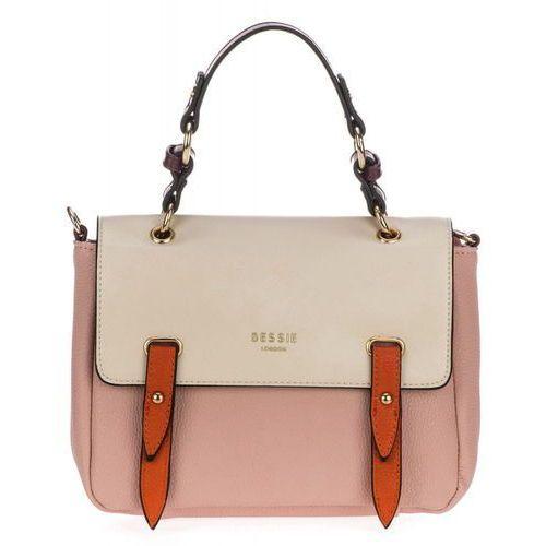 Bessie london torebka damska różowy