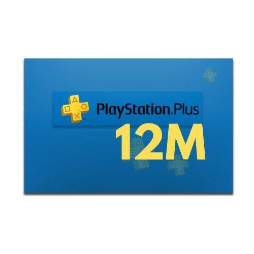 Sony Playstation plus 12 miesięcy