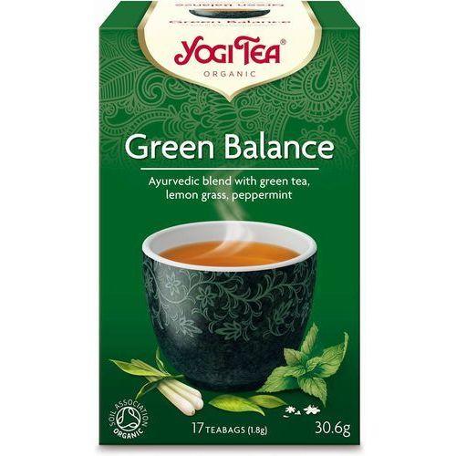 Yogi tea Herbata zielona równowaga bio ekspresowa (17x1,8g)