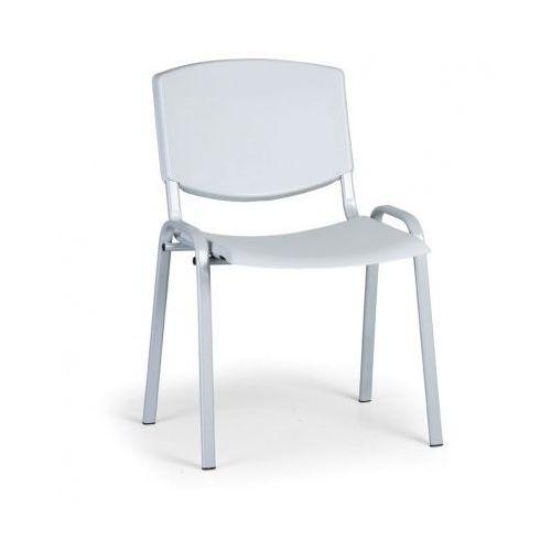 Krzesło konferencyjne Smile, szary - kolor konstrucji szary