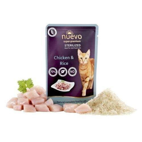 (bez zařazení) Nuevo cat saszetka sterilised kurczak - 85g