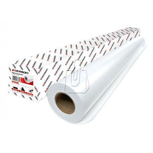 Emerson Papier w roli do ploterów, 297 mm x 50 m, 80 g/m2 - rabaty - super ceny - autoryzowana dystrybucja - szybka i tania dostawa (5902178176660)