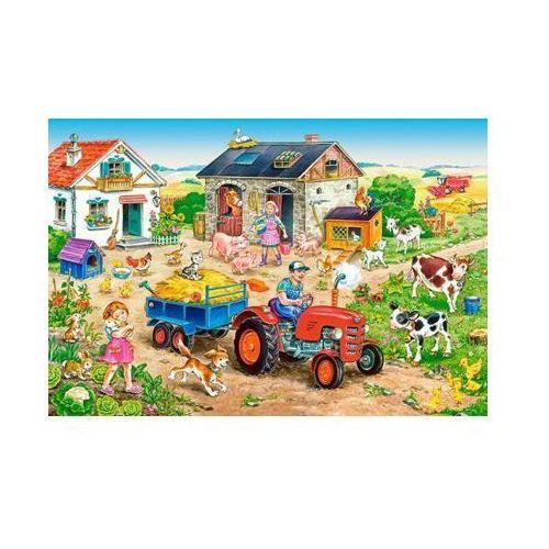 40 ELEMENTÓW Maxi Życie na farmie
