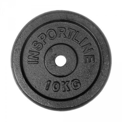 Obciążenie żeliwne 10kg inSPORTline (8595153607456)