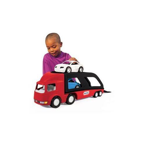 Big przewoźnik samochodów marki Little tikes