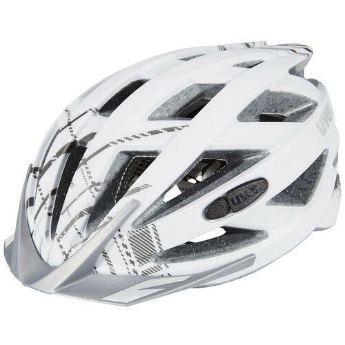 city i-vo kask rowerowy, white mat 56-60cm 2019 kaski miejskie i trekkingowe marki Uvex
