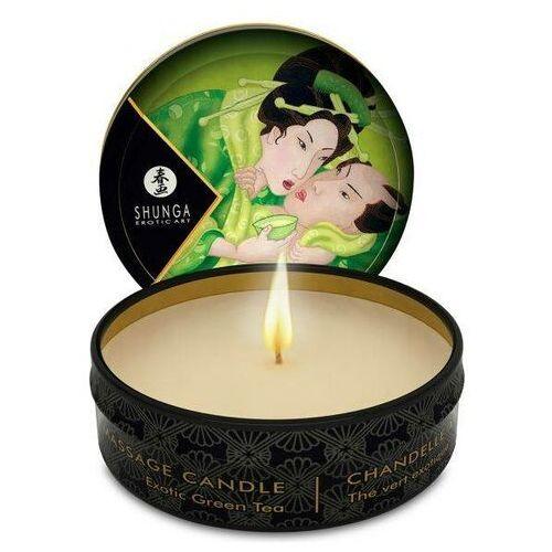 Shunga (can) Świeca do masażu zenitude / egzotyczna zielona herbata 30 ml