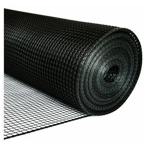 Siatka budowlana B4 120 cm x 50 mb czarna