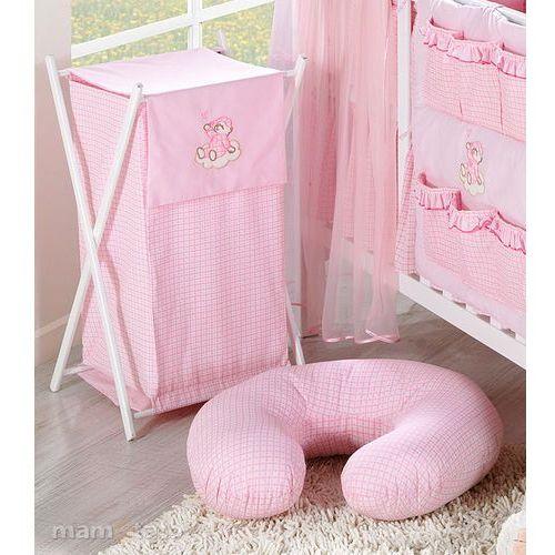 kosz na bieliznę śpioch na chmurce w różu marki Mamo-tato