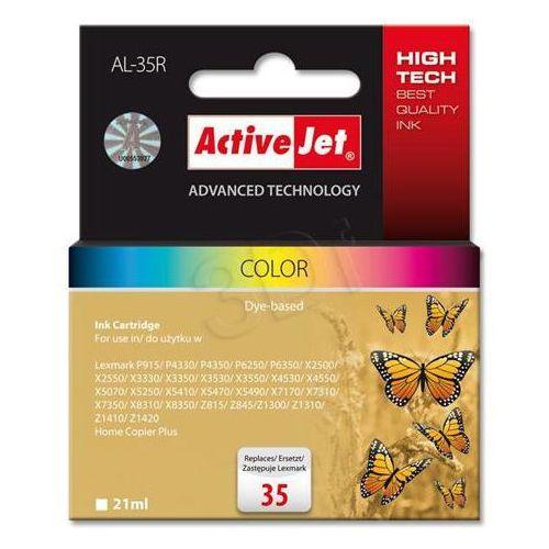 al-35r tusz kolorowy do drukarki lexmark (zamiennik lexmark 35 18c0035e) od producenta Activejet