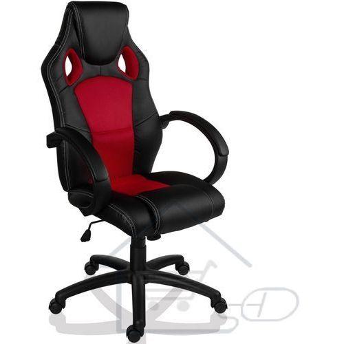 1 Fotel obrotowy dla gracza, racemaster, czerwony