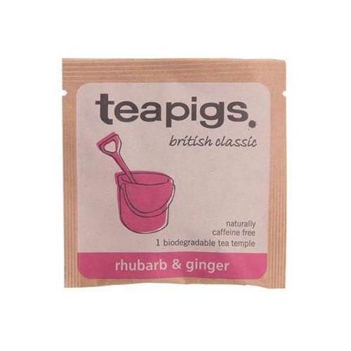 rhubarb & ginger - koperta marki Teapigs