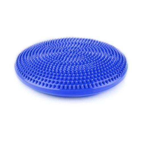 fit seat - 838547 - poduszka do ćwiczeń równoważnych i masażu - niebieski marki Spokey