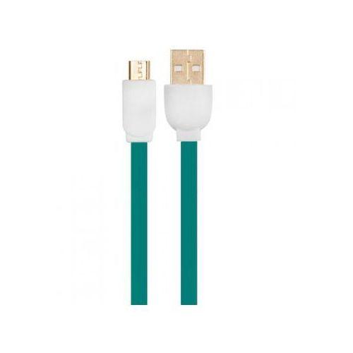 Arkas Kabel usb - micro usb 3 m (mbfl-30 green) (5907747838154)