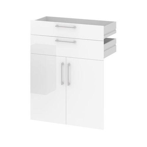 Komplet szuflad i drzwi do regału prima - biały marki Tvilum