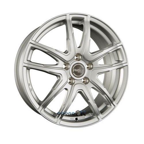 vx100 arctic silver (as) einteilig 6.50 x 16 et 45 marki Proline wheels
