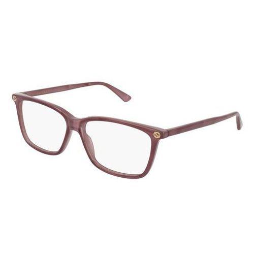 Okulary korekcyjne gg0094o 009 marki Gucci