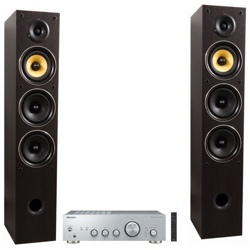 Zestaw stereo a40aes + taga tav-506f wenge marki Pioneer
