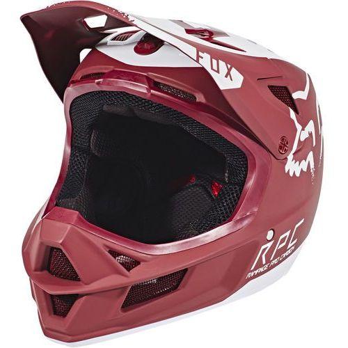 rampage pro carbon moth kask rowerowy czerwony m | 57-58 2018 kaski rowerowe marki Fox