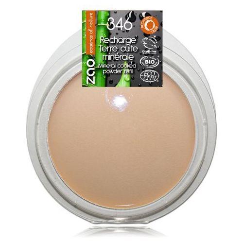Puder brązujący zao - wkład - 346 - matujący dla jasnej karnacji marki Zao - make up organic