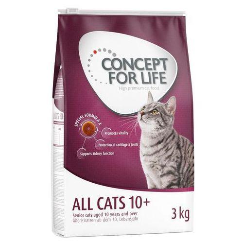 Concept for Life All Cats 10+ - 400 g| DARMOWA Dostawa od 89 zł + Promocje od zooplus!| -5% Rabat dla nowych klientów