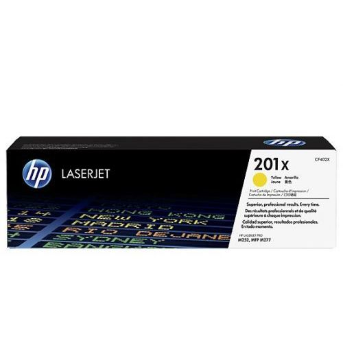 HP Inc. Toner 201X Yellow 2.3K CF402X